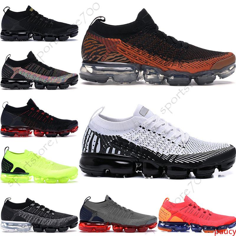 Knit 2.0 Fly 1.0 CNY Running Shoes Men Women BHM Red Orbit Metallic Gold Triple Black Designer Shoes Sneakers Trainers 36-45