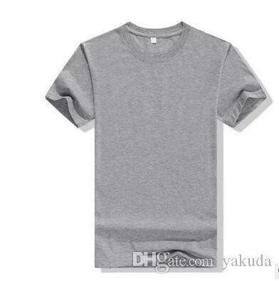 Fans 2019 Männer Individuelle Werbe Shirt Großhandel T-Shirt Kultur Hemd DIY kurze Ärmel Schichtarbeit Kleidung Logo bedruckt Sommer Baumwolle