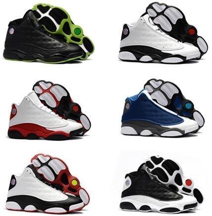 Высокое качество любовь уважение 13s разводят Чикаго Флинтс Мужчины Женщины баскетбольная обувь 13s DMP серый носок история полета Все звезды кроссовки