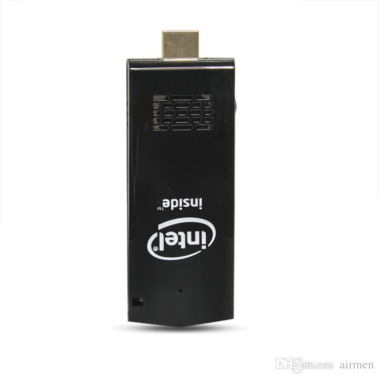 Novo W5 Pro Mini PC do Windows 10 OS Mini Computador PC Intel Z8350 2 GB / 32 GB Computador Vara HDMI WiFi Bluetooth Bolso Portátil PC MINI