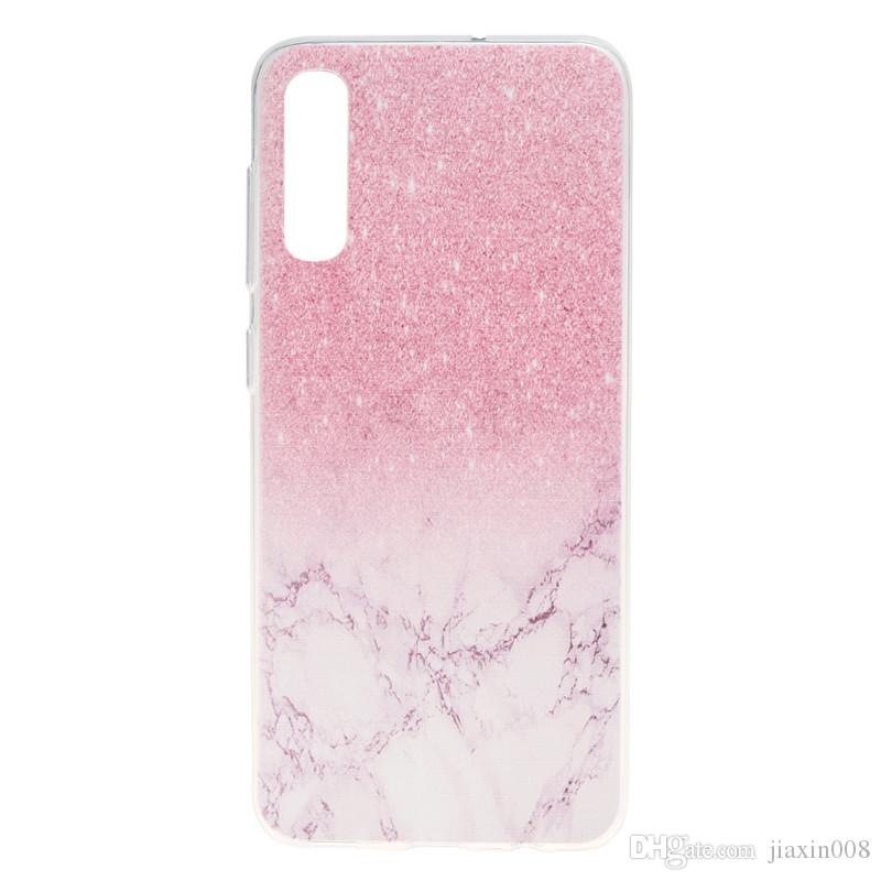 rivenditore online 1e1d9 5d2e6 For Samsung Galaxy A50 Case Cover Transparent Soft TPU Colour Decoration  Tower Bike Butterfly Girl Mobile Phone Cases Design Cell Phone Case Heavy  ...