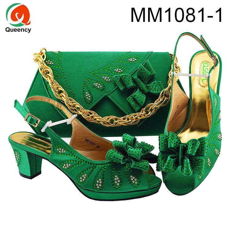Dgrain Hohe Qualität Afrikanische Clutch Schuhe Und Damen Taschen Heißer Verkauf Frauen Italienische Schuhe Und Passende Taschen
