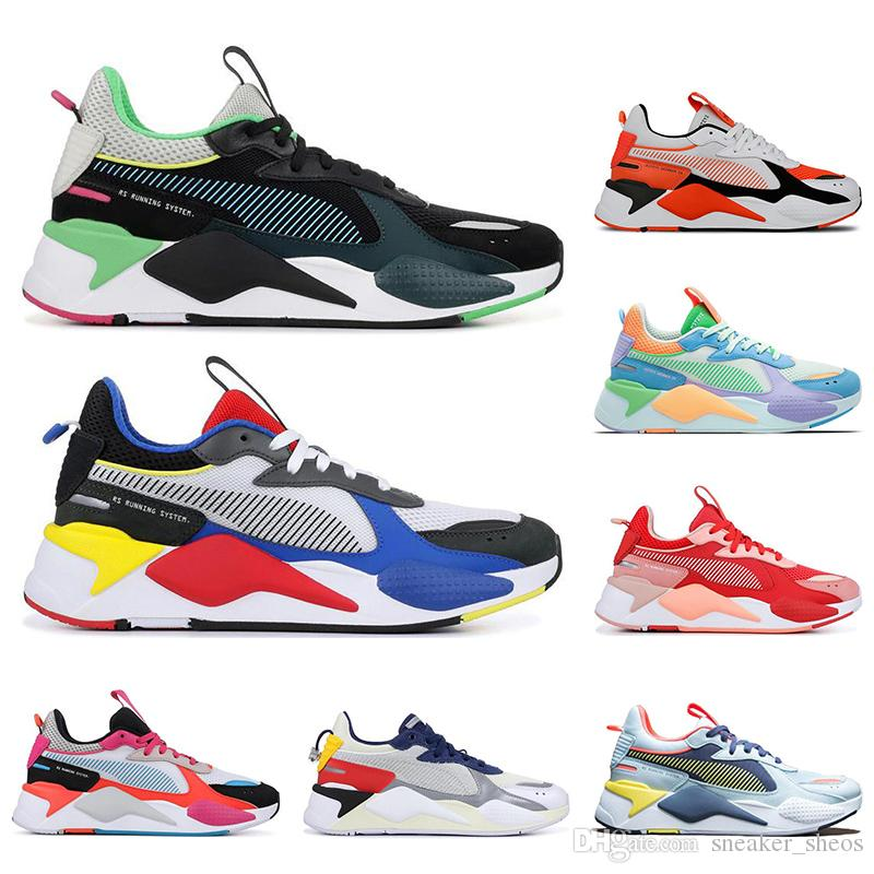 2019 New PUMA Transformers Black&White&Green Running Shoes 1