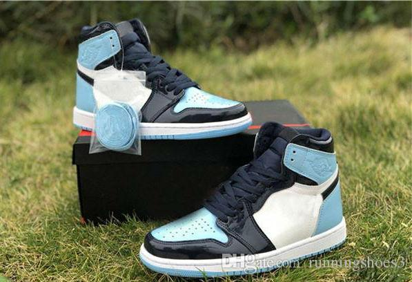 2020 New Release 1 High Og Unc Patent Asg Wmns 1s Obsidian Blue