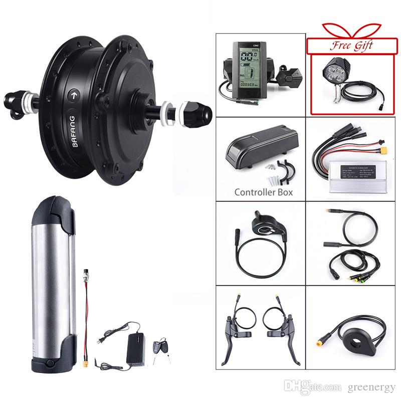 Bafang Rear Hub Motor Conversion Kit 36V 250W Electric Bicycle Motor D & DC TypeEbike Wheel Drive Engine with 10Ah Battery