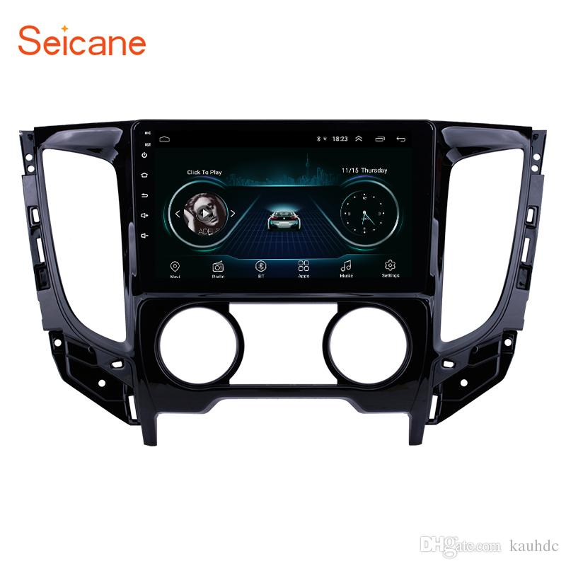 HD Touchscreen Android 8.1 9 inch GPS Navi Car Stereo for 2015 Mitsubishi TRITON (MT) Manual air conditioner with WIFI Music support TPMS