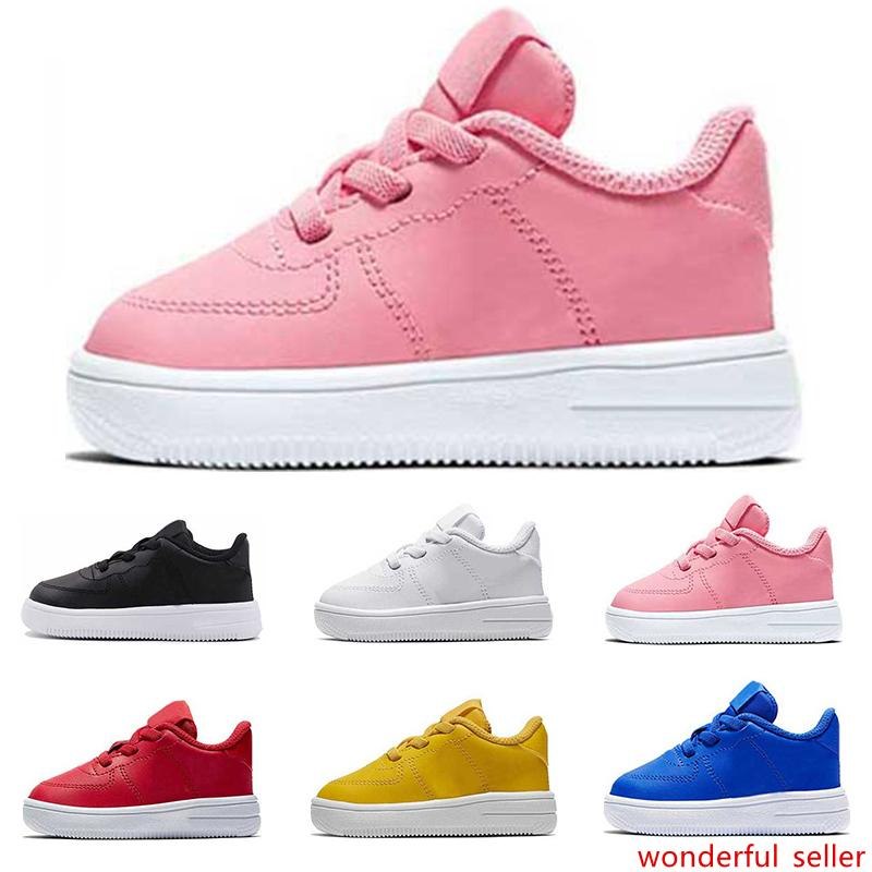Hot fashion kids shoes top quality triple black white red pink platform sneakers for girls boys casual skateboard shoe size 22-35