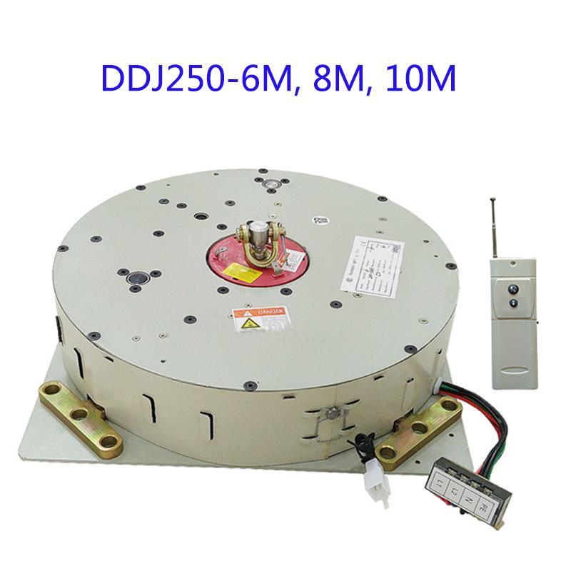 250KG 6M 8M 10M Chandelier Hoist Lighting Lifter Light Lifting System Pendant Winch Lamp Motor Chandelier hoist with Remote Control