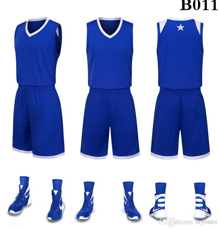 2019 Mens New Blank издания баскетбольных Пользовательские имя пользовательского номер размер Самого лучшего качество S-XXXL Фиолетовый Белый Черный Синий DDC23