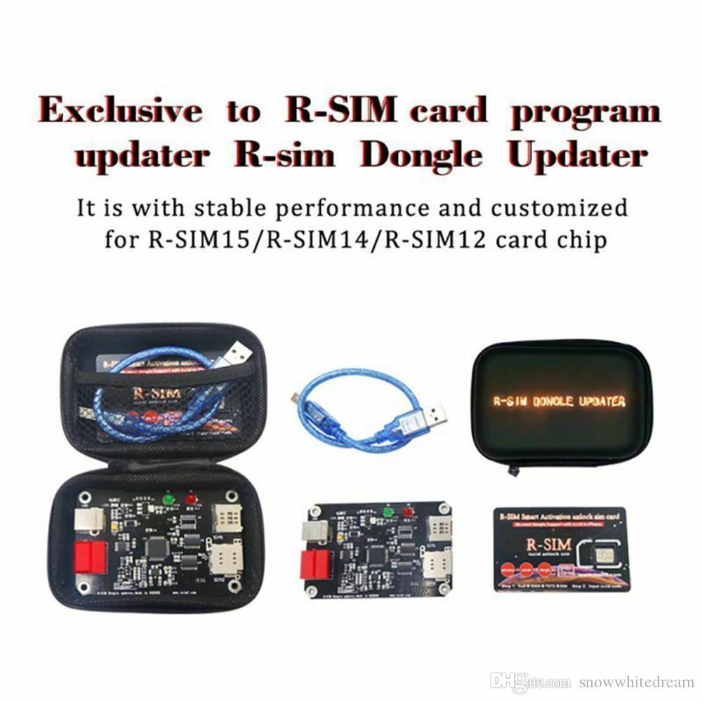 R-SIM-Dongle-Update für RSIM12 + 14 14+ 15 dedizierte R-SIM-Karte zu aktualisieren befestigt Updater Used On ISO 13.X