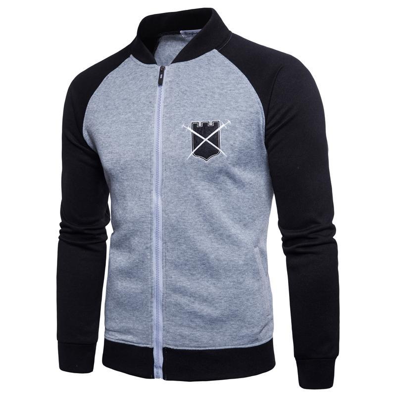 Hoodies Pulls à capuche avec fermeture à glissière hommes Vêtements à manches longues Nouveau Designer Sweatshirts Noir Plus La Taille M-3XL