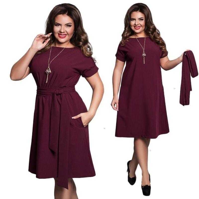 Женская одежда платье женщин Elegant 2019 Повседневных сек большого размера Плюс Размер платья женщин лето Пояс Bodycon партии платье Дизайнер одежды