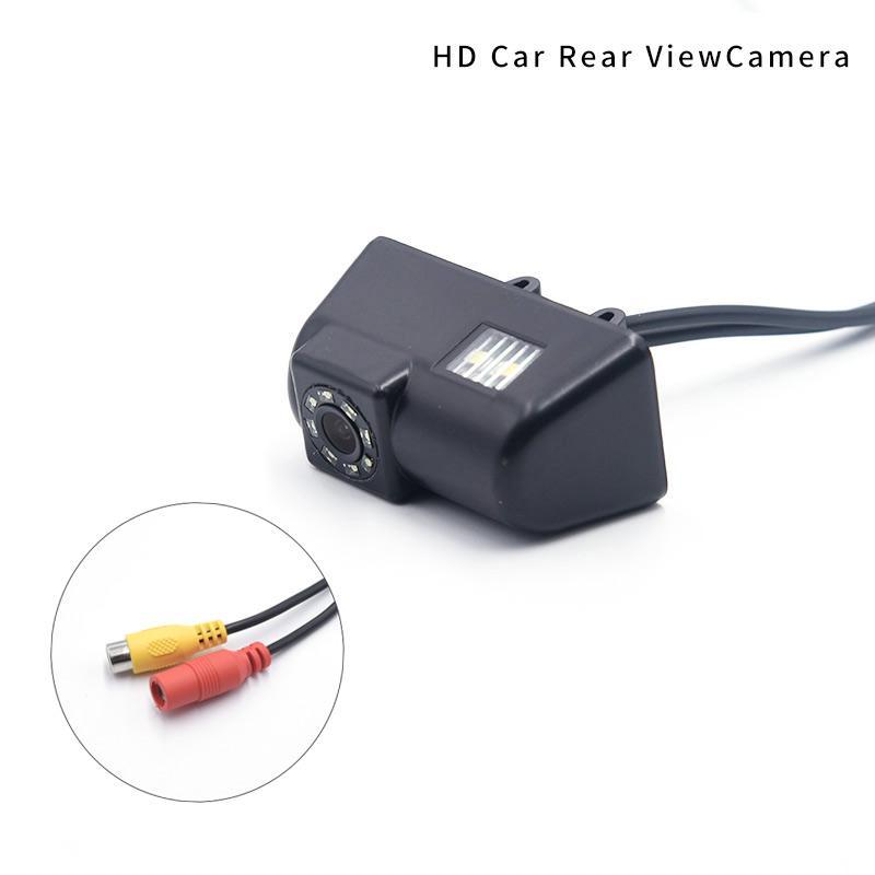 Super visão noturna 8 luzes LED câmera traseira para transporte carro câmera de visão traseira impermeável