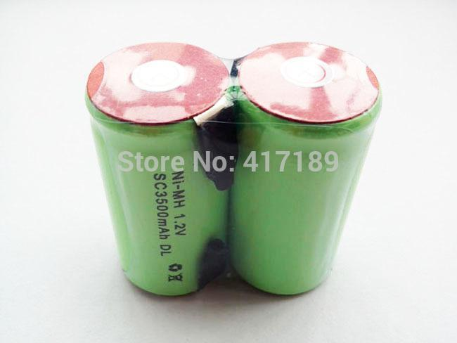 Freeshipping 1.2V Ni-MH SubC Battery 3500mAh Rechargerable SC Battery 10C Discharge Rate 30pcs/lot