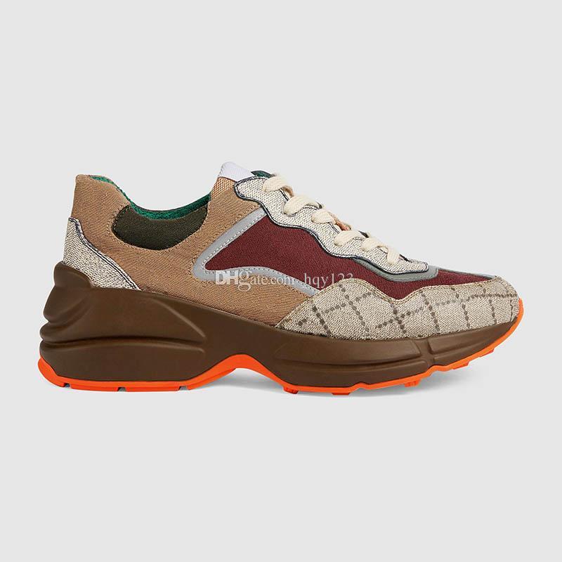 جديد يصل للجنسين أحذية رياضية شهيرة الرجال الأزياء والأحذية العلامة التجارية مصمم المرأة حذاء فاخر حجم 35-44 نموذج RZ02