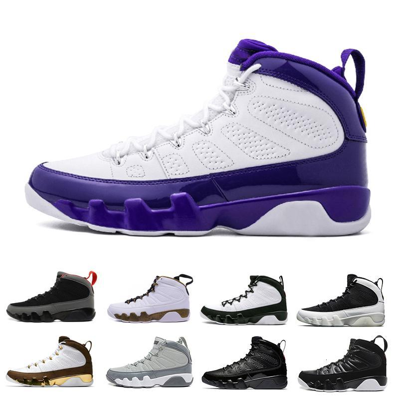9 Og Mop Melo Homens tênis de basquete 9s Bred La Branco Preto Vermelho Fresco Shoes Grey Esportes 9s Atlético Sneakers Tamanho 41-47
