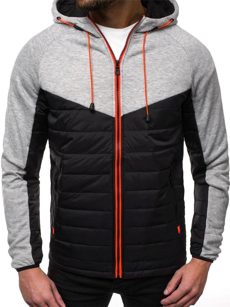 Mens Sports Styles Jacket Designer Zipper Fly High Street Mens Coats Fashion Long Sleeve Cardigan Hoodies