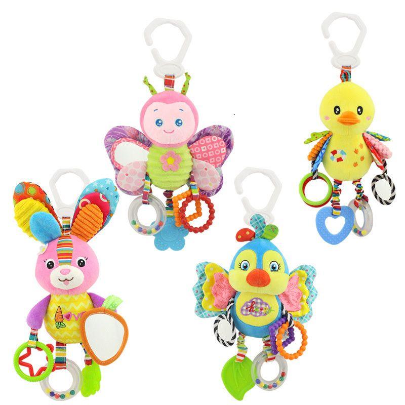 Bebé recién nacido que confunde los juguetes Timbre Mordedor Establece felpa regalo para bebés