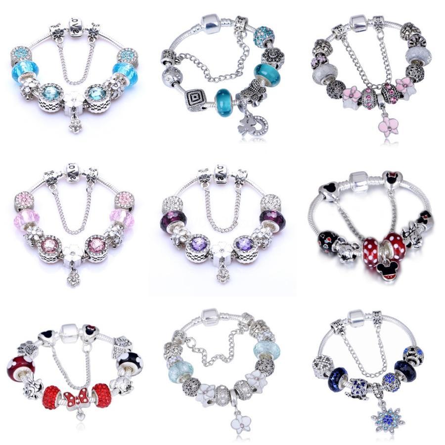 Ukebay nuevo corazón brazaletes de la joyería pulseras encanto de las mujeres negras Cadenas mano bricolaje brazalete de la elasticidad de la cuerda Accesorios de madera joyería # 175