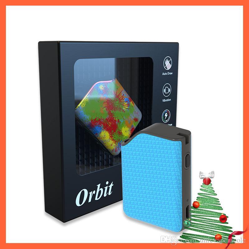 Unicvape нового товара Orbit вибрационного коробок автоматической Жеребьевка использование дизайна дружественного масло перо Vape уместить 510 резьбы картридж ОЯ приветствоваться