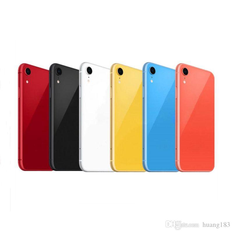 High Quality Battery Back Cover for iPhone XR Rear Door Housing with middle Frame