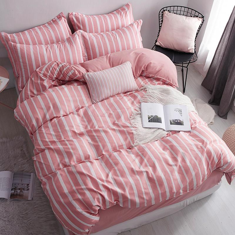 30Style Lovely Bedding Set Duvet Cover Set Polyester Fiber Bed Sheet Sets Sets Black Cat Size Twin Full Queen King