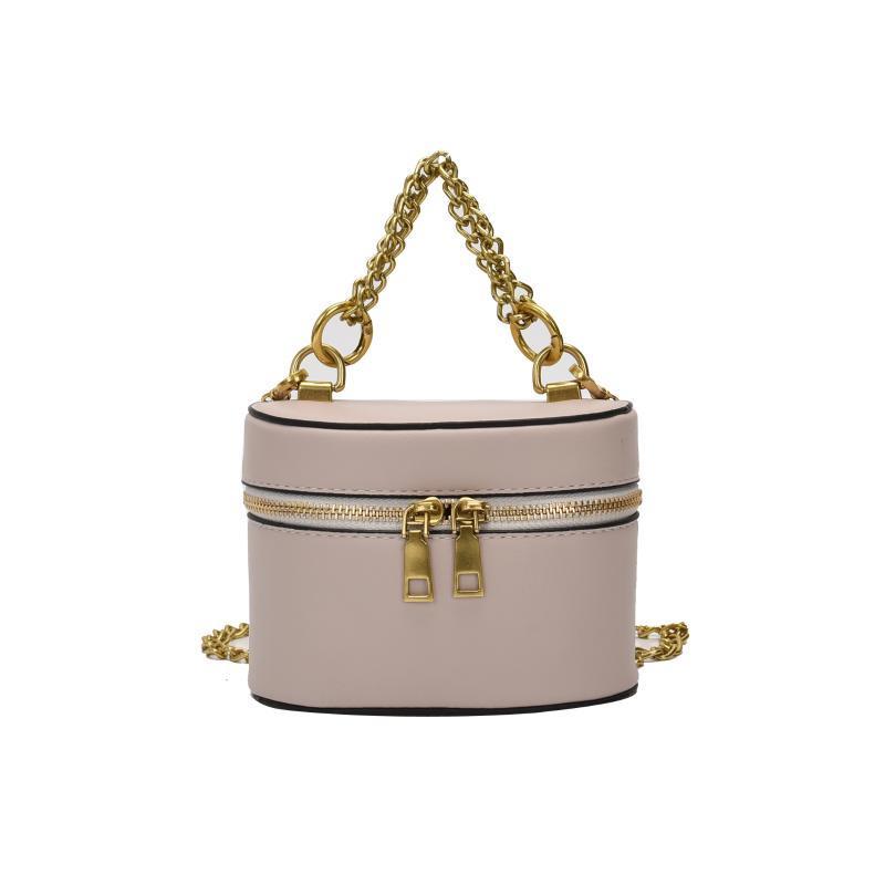 sacos de balde para as mulheres 2020 nova grande moda bolsa capacidade de senhora de couro PU cadeia mentais Messenger Bag Ombro feminino