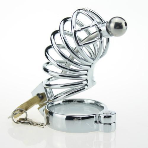 Мужской целомудрие устройство с игрушкой мужской пояс целомудрия клетка с уретральным катетером звуки петух клетка дуги кольцо из нержавеющей стали секс-игрушки для мужчин