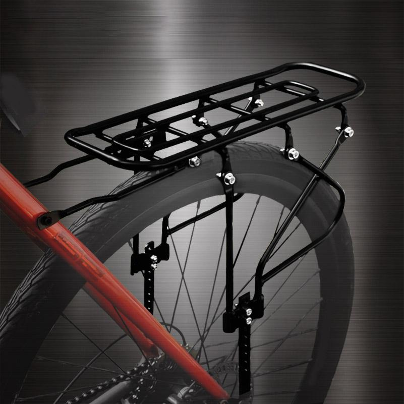 Traseira para bicicletas rack de aço Transportador Seatpost Monte 16-26 Inch prateleira traseira para Supplies Mountain Bike Adulto Crianças Pet