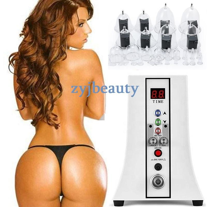 Physical Breast & Buttcock Enlarger Vacuum Cupping Therapy, Natural Breast Enlargement Machine,Professional Big Breast Machine