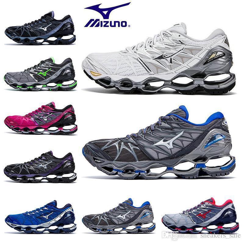 Zapatillas de deporte para hombre Mizuno New Wave Prophecy 7 para hombre Zapatillas deportivas para hombre con amortiguación al aire libre originales 36-45 EUR
