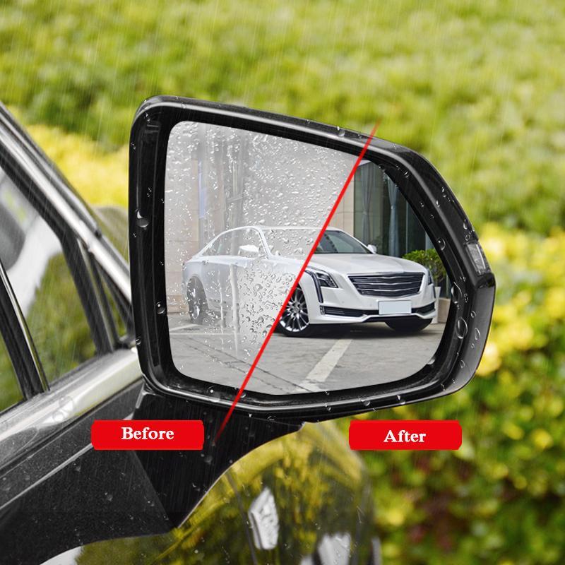 2pcs voiture étanche film anti-brouillard rétroviseur de protection film autocollant fenêtre autocollants clairs pour Cadillac XT4 XT5 2016-2019