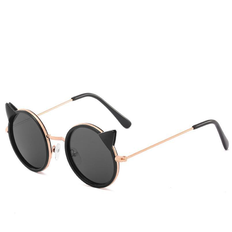 Cat Eye Designer Sonnenbrillen für Kinder Mode Mädchen Junge Nette Sonnenbrille Kinder Farbverlauf UV400 Schöne Eyewear