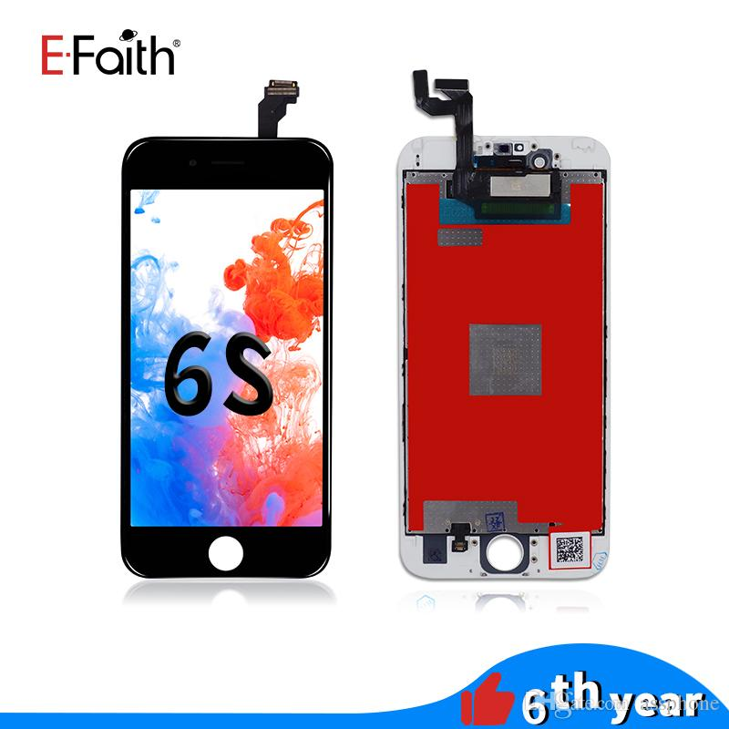 EFaith Black & White High Quality LCD For iPhone 6S Screen Assembly 4.7 Inch Display With Repair Digitizer Replacement & Free Shipping