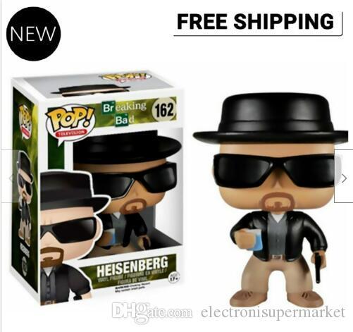 New Funko Pop Breaking Bad Heisen # 162 Action-Figur mit großer Qualität Original-Box