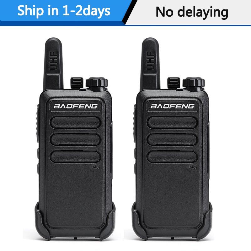 Walkie talkie 2pcs / lot Baofeng BF-C9 banda UHF Mini walkie talkie conjunto bf-888S USB portátil de excursión de caza de carga de dos vías handheld del equipo de radio