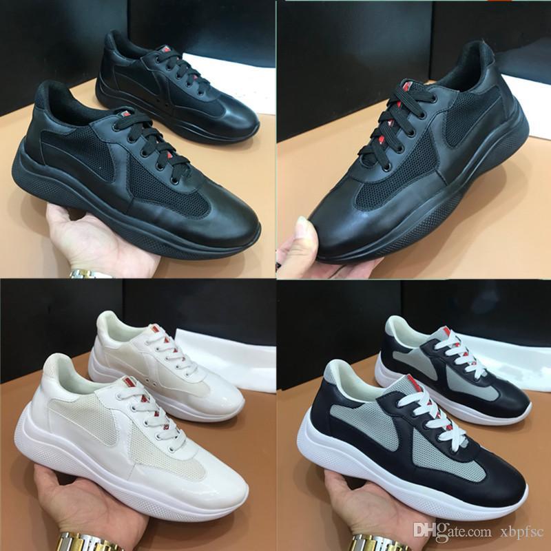 Модельер кроссовки обувь для мужчин кожи сшивания моды Спортивного Lo-Top Sneakers себе Повседневной обуви мужской открытого досуга обуви