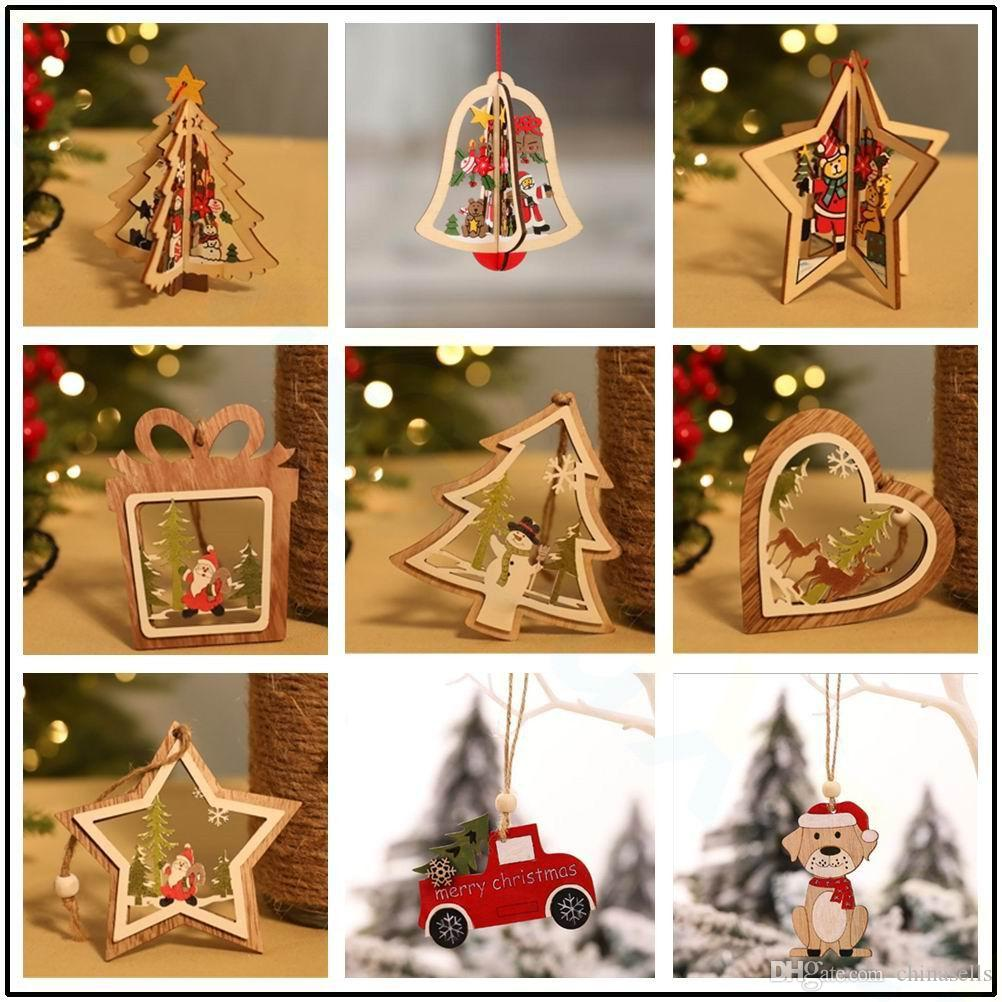 Christmas Clear Glass DIY Xmas Tree Hanging Baubles Ball Ornament 10cm stands