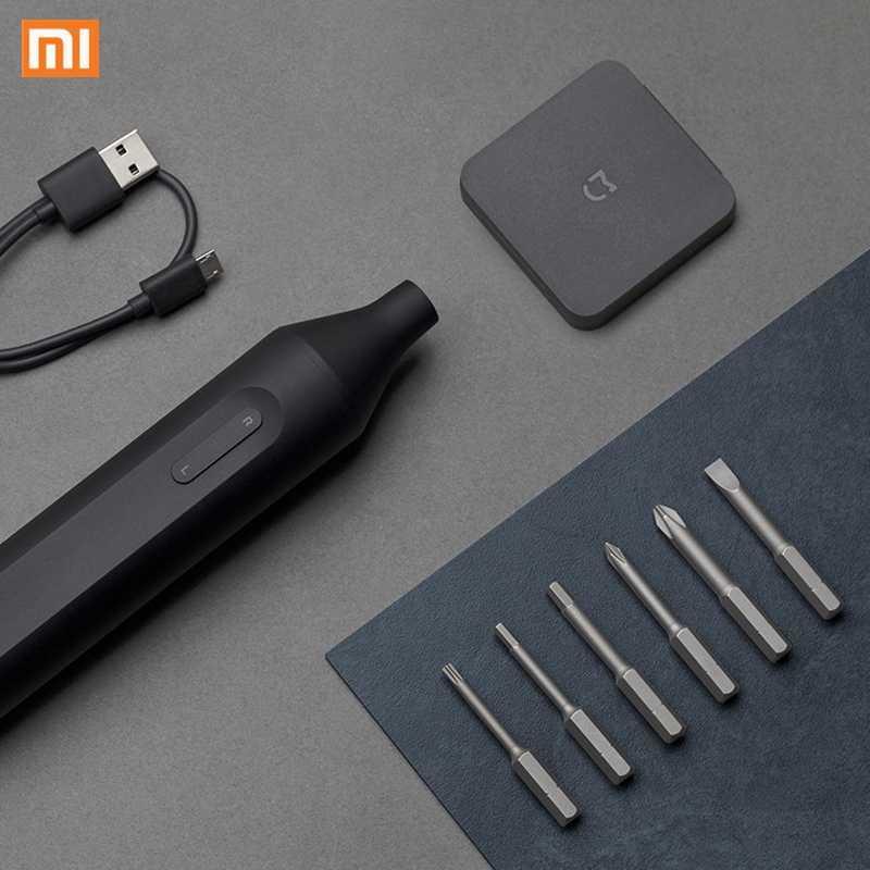 Mijia S2 bit cacciavite elettrico manuale automatico a batteria 1500mAh ricaricabile avvitatori elettrici integrati