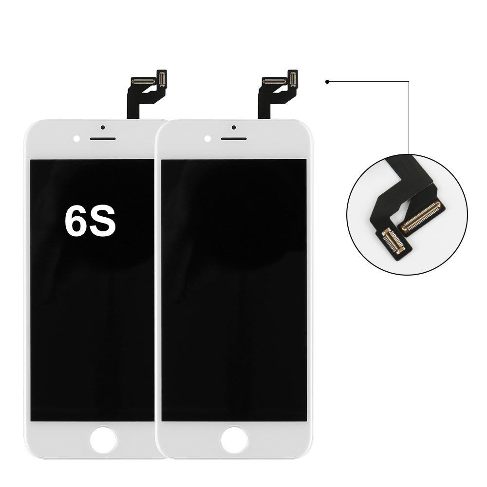 """شاشة الهاتف الخليوي الجملة استبدال قطع غيار المعدات الأصلية الأصل العرض التي تعمل باللمس محول الأرقام LCD كاملة للحصول على اي 6S 4.7 """"بوصة"""