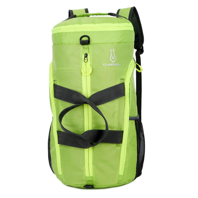 Designer-Speziell leichte Reise Falttasche Handreisetasche Rucksack multifunktionales Fitness Falten