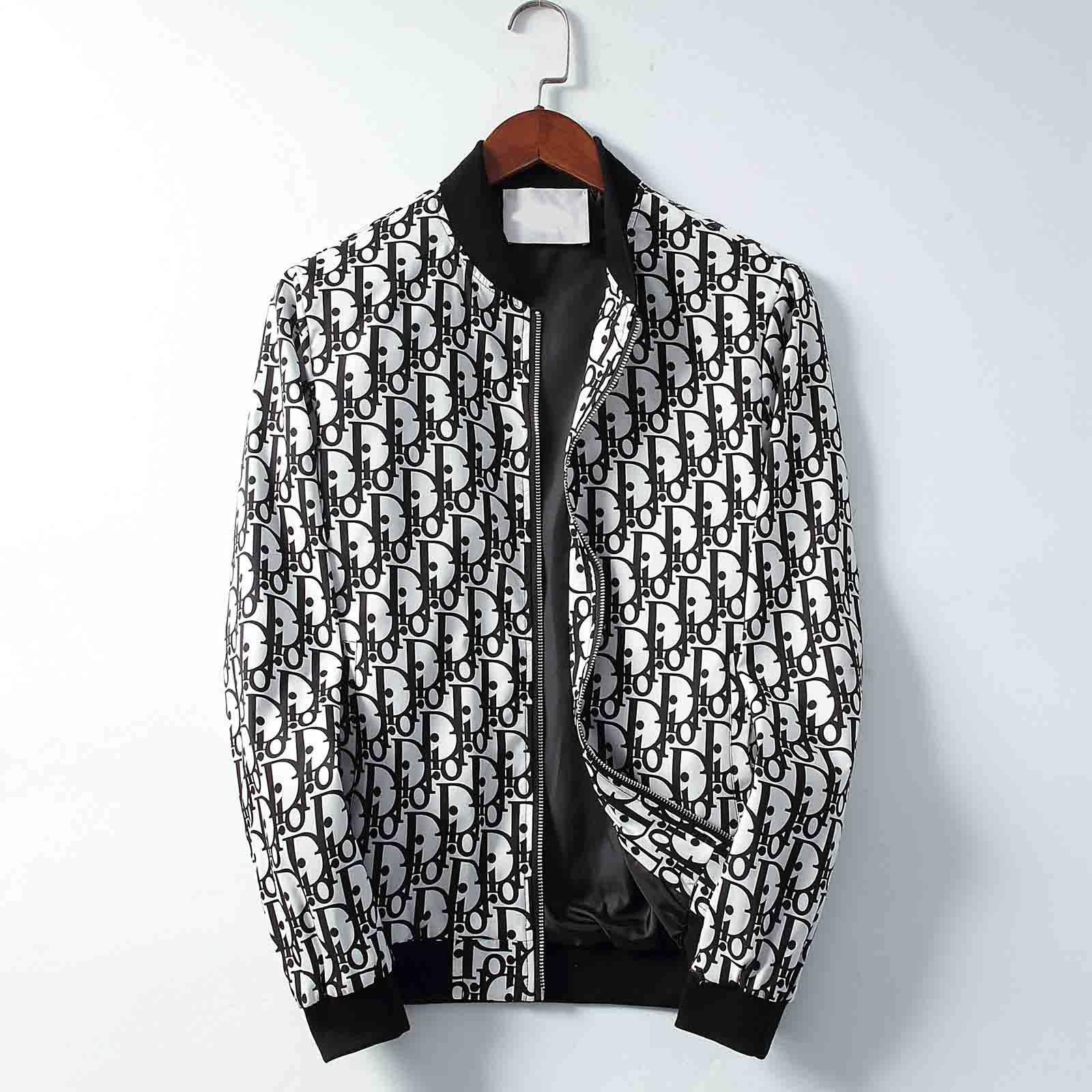 Coats Jacket Brand New Autunno Inverno Mens Clothes Zipper moda giacche casual maniche lunghe con cappuccio Giacca a vento Giacche Uomo Donna Sport