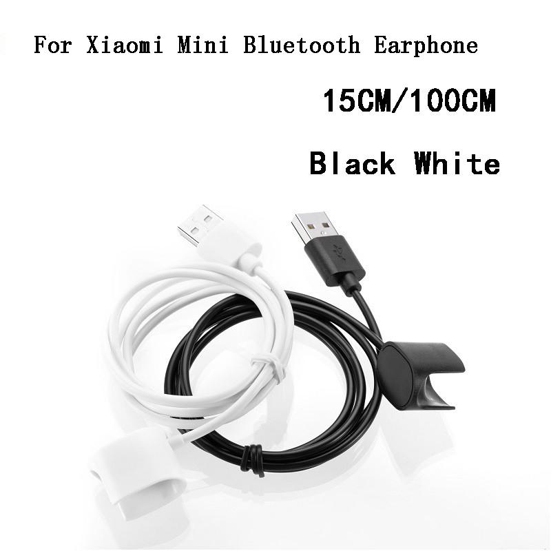 For Xiaomi Mini Bluetooth Earphone USB Charger Cable 15CM 100CM Quick Charging Line Cord Wire Adapter For Xiaomi Wireless Bluetooth