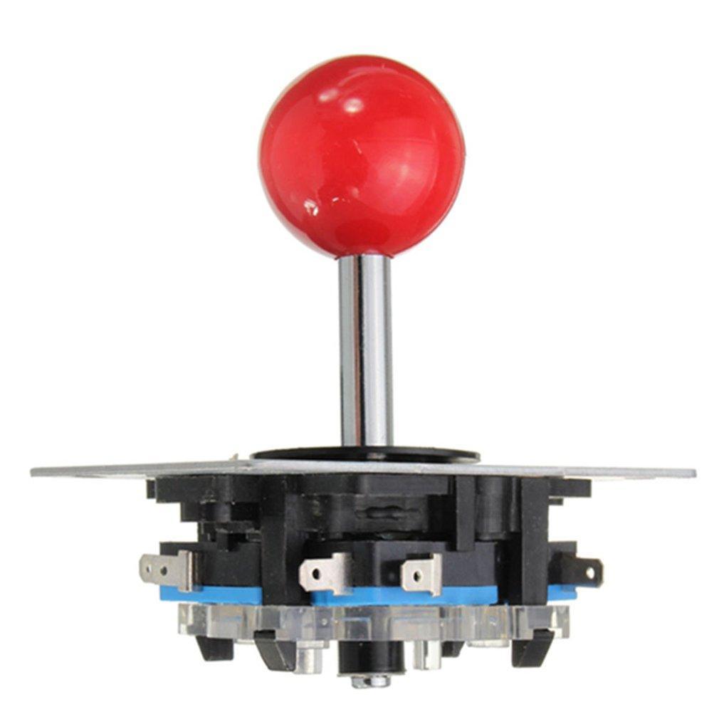 모조 세 로커 조이스틱 아케이드와 마이크로 모션 게임 기계 로커 핸들 게임 콘솔 비행 제어 레버