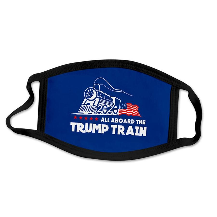 Luxury Designer Trump Face Mask Protective Mask Ultraviolet-Proof Dustproof Riding Cycling Sports Print Mouth Masks Women Outdoor #855