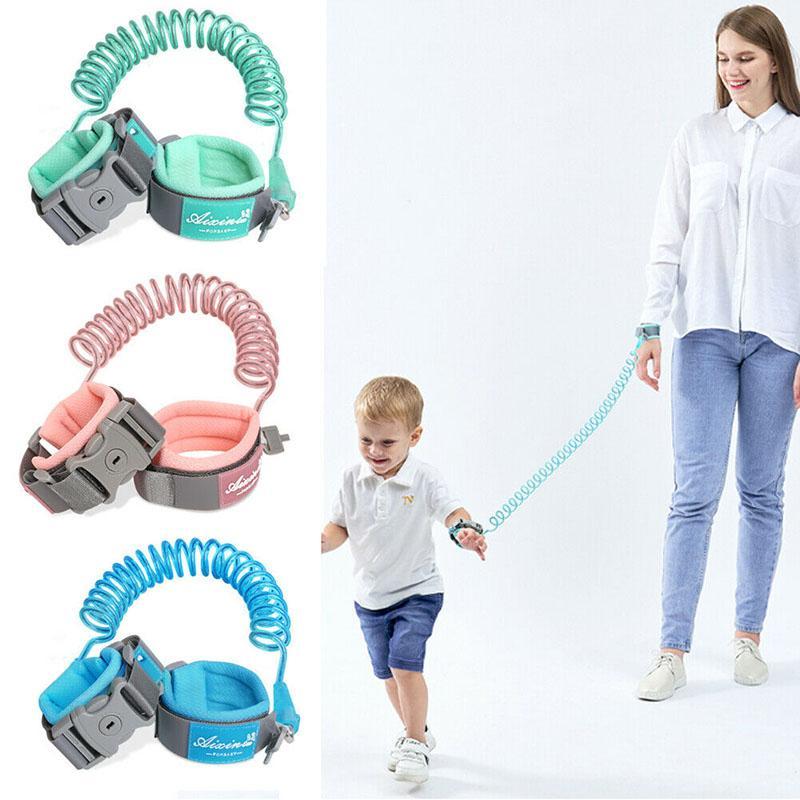 (2.5M) niño bebé seguridad arnés correa chico Anti perdido muñeca tracción cuerda banda