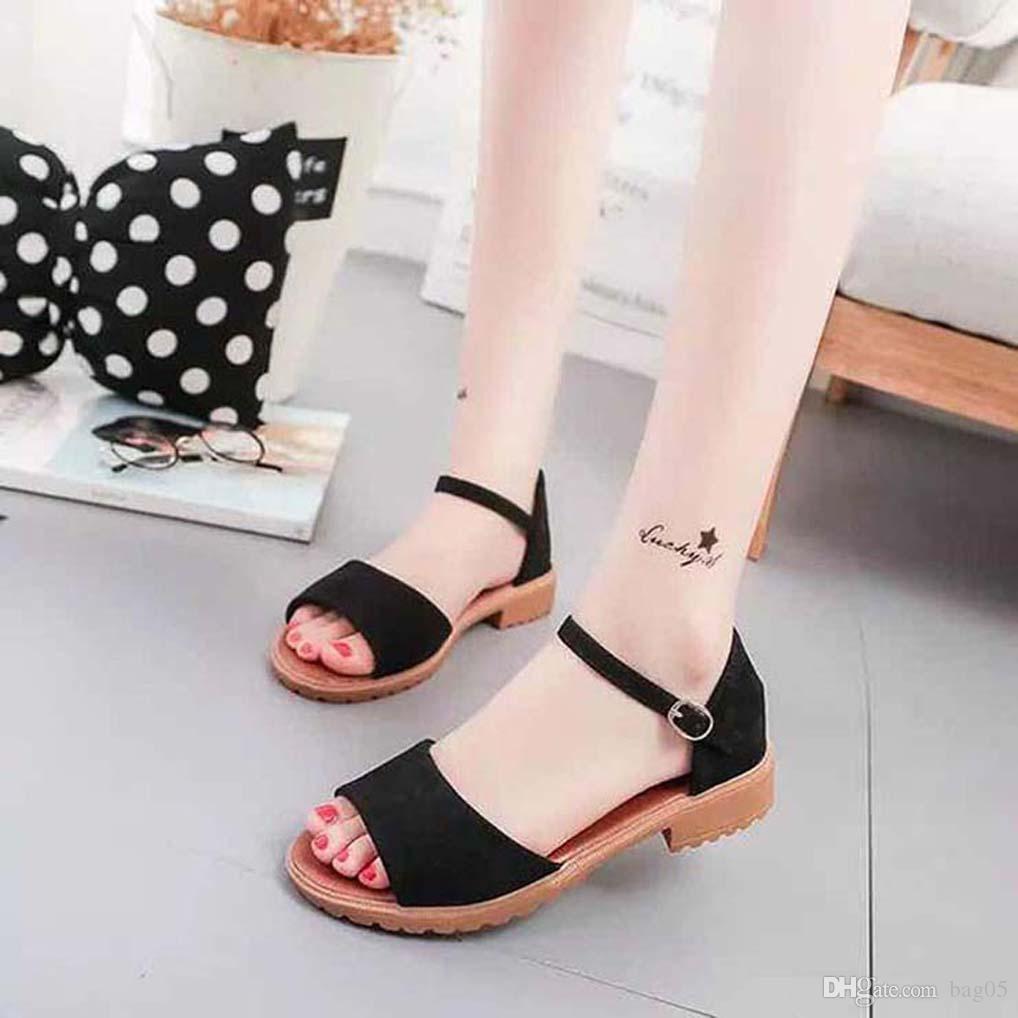 bayan ayakkabı Sandalet Yüksek Kaliteli topuklu Sandalet Terlik Huaraches terlik bag05 PL987 için Floplar loafer'lar ayakkabı çevirin