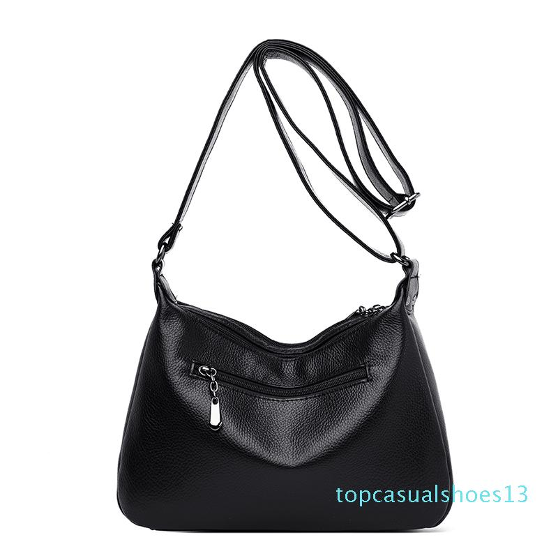 Casual Woman's Shoulder Bags Ladies Bag Soft Pu Leather Crossbody Bag for Women 2020 High Quality t13