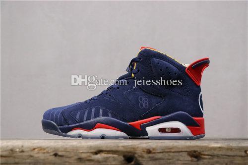 Travis x Scotts 6 Doernbecher Médio Olive Cactus Jack Mens tênis de basquete 6s homens Designer Sneakers 7-12