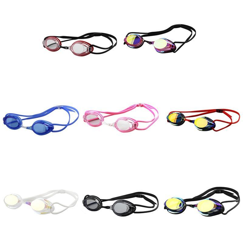 Elektro Anti-UV Karşıtı sis Mayo Gözlük Yüzme Dalış Ayarlanabilir Yüzme Gözlükler Bayanlar Erkekler Yüzme Gözlükler